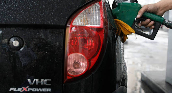 Etanol só vale a pena de custar menos de 70% da gasolina