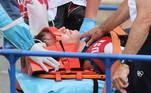 Ciclista dos EUA sofre hemorragia cerebral após queda na OlimpíadaVEJA MAIS