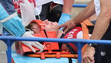 Ciclista dos EUA sofre hemorragia cerebral após queda na Olimpíada
