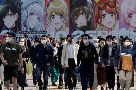 Japão chega a 100 mil casos de covid-19