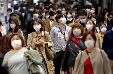 Japão vive terceira onda de covid