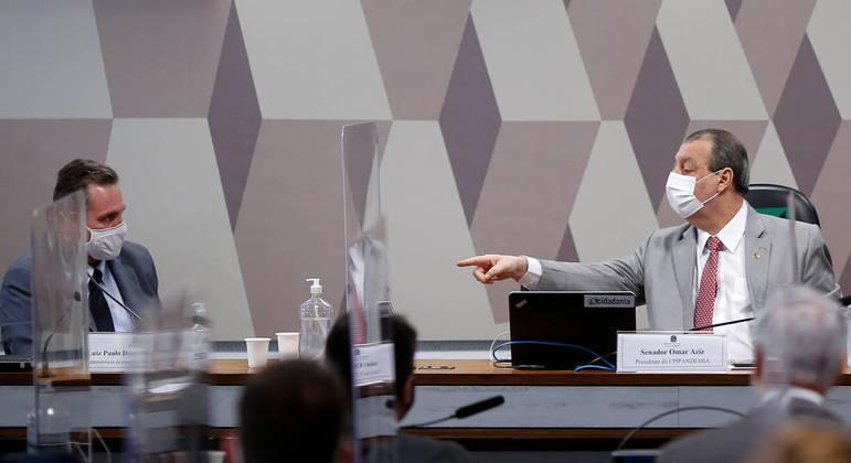 Empresário teve apoio do presidente da CPI para não ser preso por falso testemunho