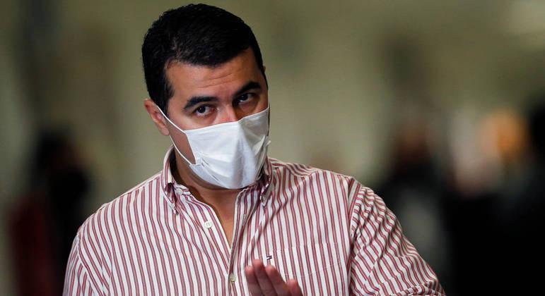 O deputado Luís Miranda entrou na mira da PF após ministro Luiz Eduardo Ramos encaminhar notícia-crime contra ele
