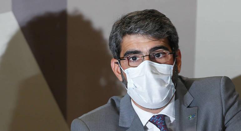 O diretor-presidente da Agência Nacional de Saúde Suplementar (ANS), Paulo Rebello