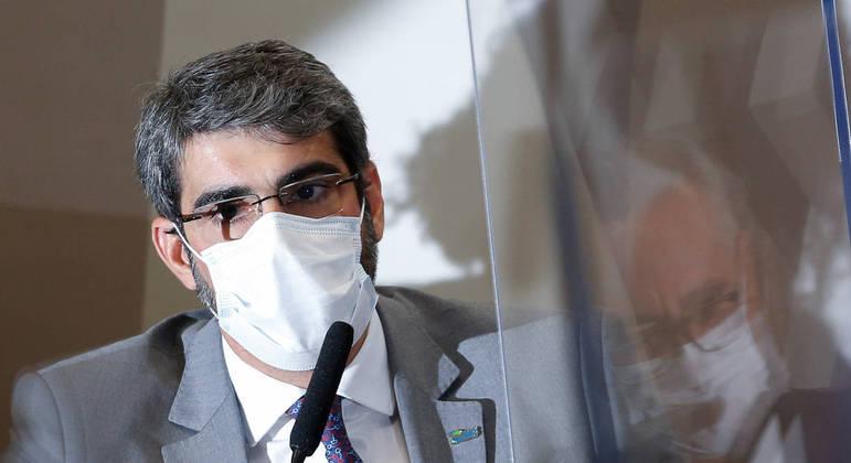 Diretor-presidente da ANS, Paulo Rebello Filho, em depoimento à CPI da Covid-19