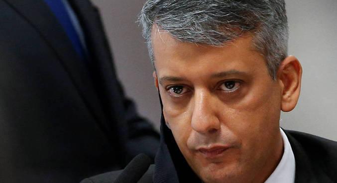 Roberto Dias foi detido ontem durante a CPI; ele pagou fiança e foi liberado