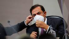 Tolentino presta depoimento à CPI e não diz se é sócio do Fib Bank