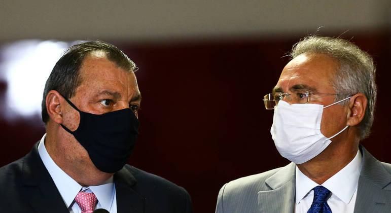 Aziz e Calheiros devem fechar nesta quinta como serão as primeiras sessões da CPI