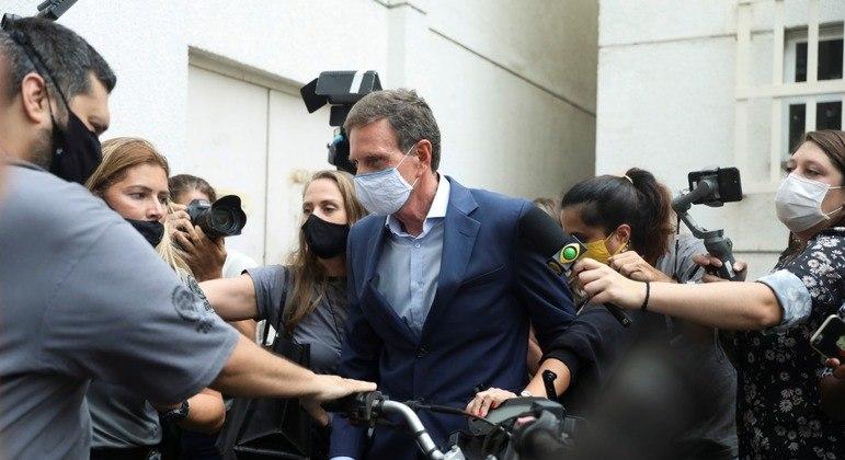 Marcelo Crivella foi alvo de uma espetaculosa prisão em dezembro de 2020