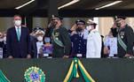 Brazil's President Jair Bolsonaro attends a Soldier's Day ceremony, in Brasilia, Brazil August 25, 2021. REUTERS/Adriano Machado