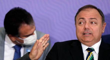 Na imagem, ex-ministro Eduardo Pazuello