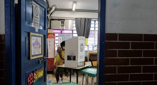 Votação no Complexo do Alemão