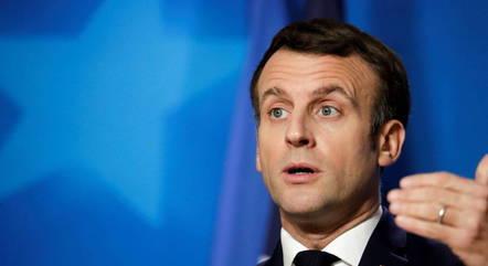 Condecorações foram pedido de Macron