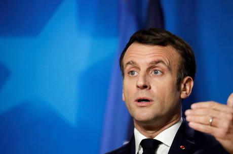 Macron recebe desejos de melhoras