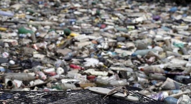 Garrafas PET persistem no meio ambiente por séculos e poluem vastas áreas