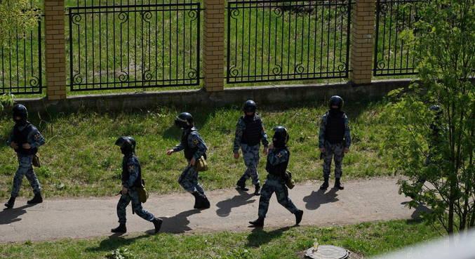 Polícia russa agiu rapidamente para neutralizar o assassino em escola de Kazam