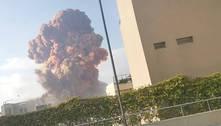 Explosão no Líbano foi causada por material explosivo confiscado