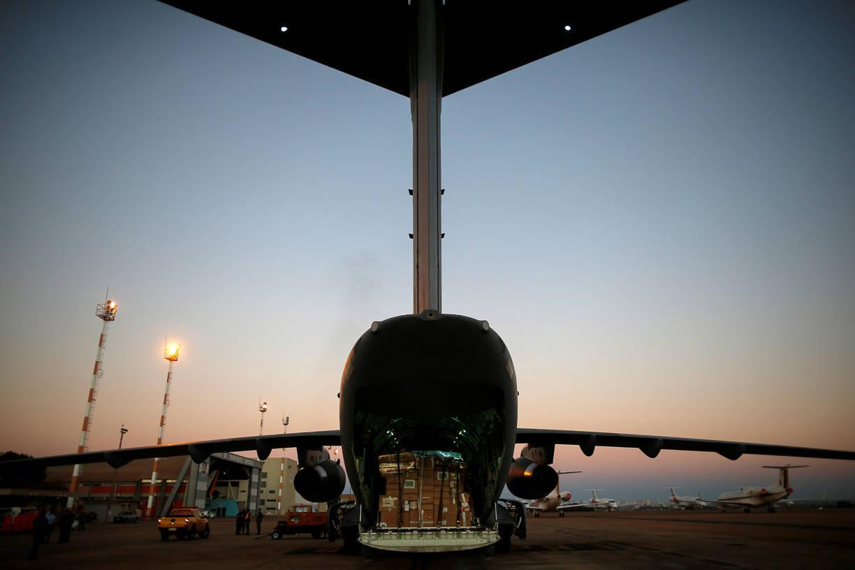 Avião da FAB decolou de Brasília rumo ao Haiti