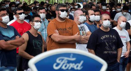 Ford fechou acordo com trabalhadores de Taubaté