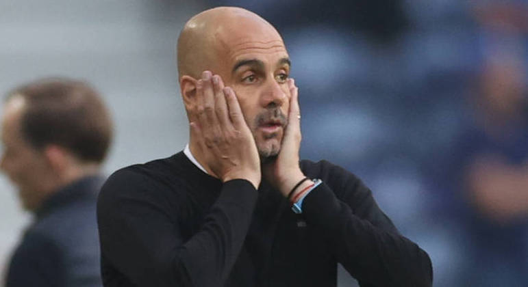 O desespero de Guardiola. Fim do sonho de vencer a inédita Champions para o City