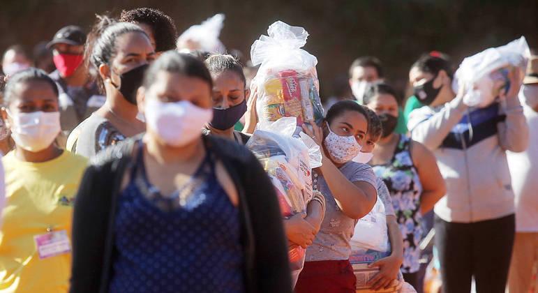 Brasil já enfrenta uma situação extremamente complicada para os mais pobres
