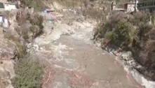 Rompimento de geleira no Himalaia derruba barragem de hidrelétrica