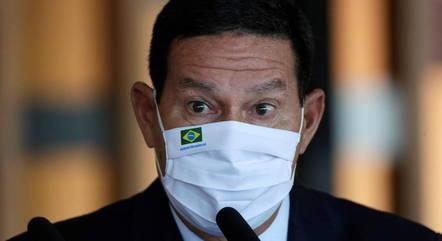 """""""Eu não escolho líder do governo"""", disse Mourão"""