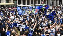 Inter de Milão é campeã italiana após empate da Atalanta