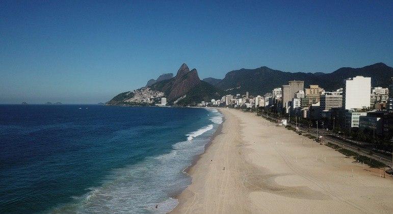Acesso a praias do estado estará proibido a partir de sexta-feira (26) até 4 de abril
