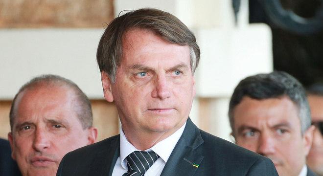 Bolsonaro tem reunião com ministro Paulo Guedes