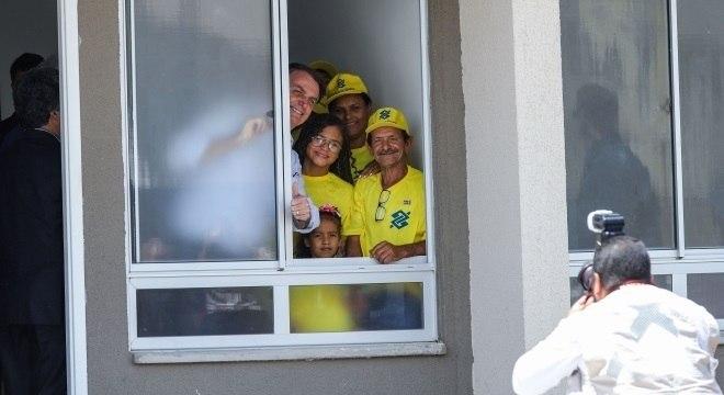 Jair Bolsonaro entregou 4,1 mil moradias na Paraíba