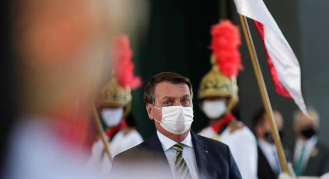 O presidente Jair Bolsonaro, que liberou emendas recorde em janeiro