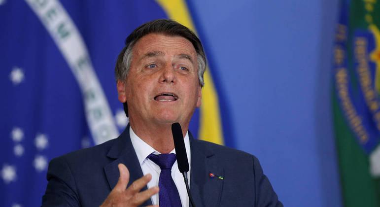 O presidente Jair Bolsonaro, que foi ao Twitter na manhã desta segunda (6) para defender a liberdade de manifestação durante o 7 de Setembro