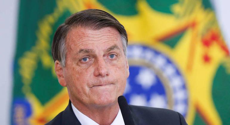 O presidente da República, Jair Bolsonaro, que declarou ter havido diminuição da corrupção em seu governo