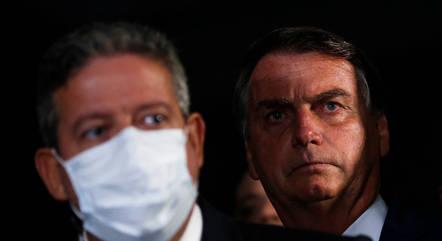 Na imagem, Arthur Lira e Jair Bolsonaro