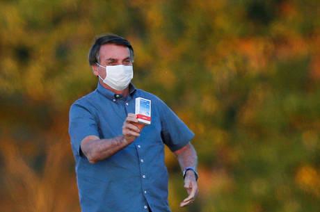 Presidente Bolsonaro foi diagnosticado no último dia 7