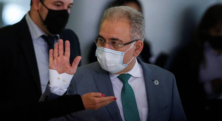 O ministro Marcelo Queiroga: atualmente, 48 milhões de brasileiros utilizam planos de saúde