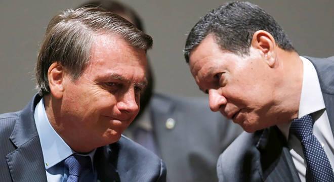 Chapa Bolsonaro-Mourão é alvo de ações que contestam a vitória na eleição