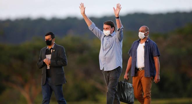 Presidente Jair Bolsonaro é favorito para as eleições presidenciais de 2022, diz pesquisa