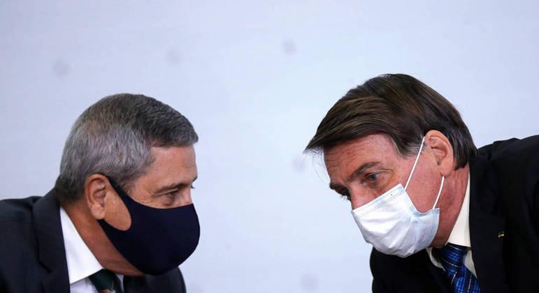 Braga Netto tem como função em comitê supervisionar impacto da pandemia no país