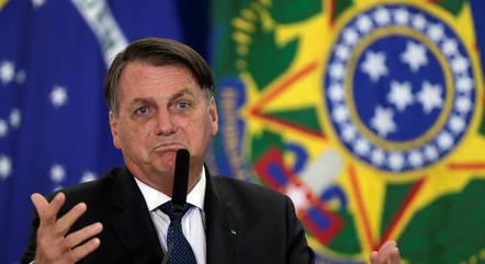 """Bolsonaro diz que trata-se de um """"caso hipotético"""""""