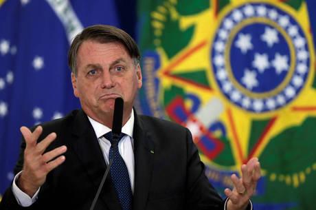 """Bolsonaro sobre imprensa brasileira: """"vergonha para o mundo"""""""