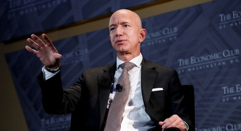 Jeff Bezos, criador da Amazon