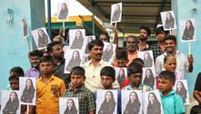 Cidade da Índia comemora posse de Kamala como vice dos EUA