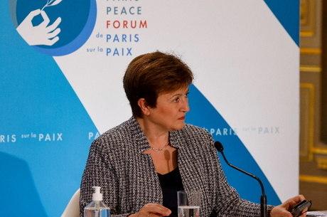 Georgieva falou em reunião do G20