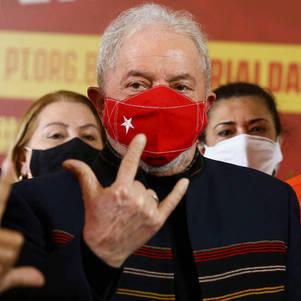 Lula volta a afirmar que é preciso fazer a regulamentação do sistema de comunicação do país