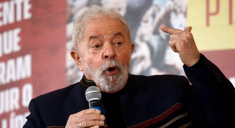 O ex-presidente Luiz Inacio Lula da Silva, que é acusado pela Receita de sonegação