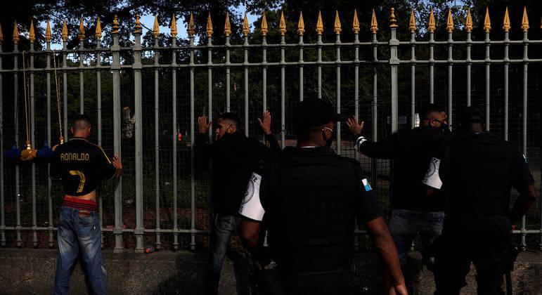 Polícia faz operação no Rio