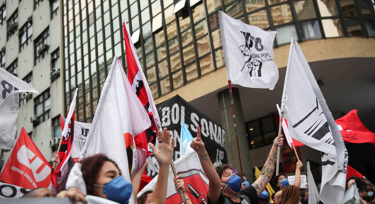 Protestos criticam pautas e medidas econômicas do governo