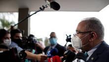Queiroga defende uso de máscaras em seu primeiro pronunciamento